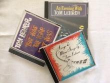 Tom Lehrer CDs
