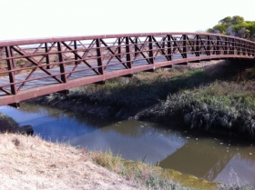 Footbridge, Shoreline, Mountain View, CA
