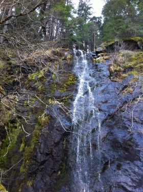 Bridal Veils Falls, Hwy 50