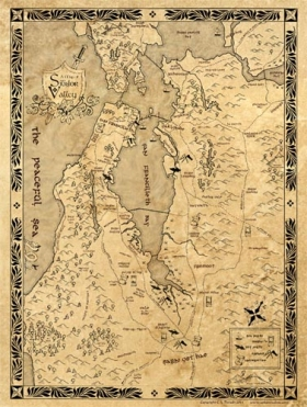 Map of Silidor Vale